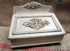 Wedding card box, then side table :)