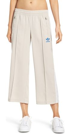 sailor crop pants by Adidas Originals. Nail the athleisure look in these cool cropped pants styled after the iconic adidas 3-Stripes track pants.