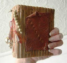 Corrugate & Clay Pocket Journal | Flickr - Photo Sharing!