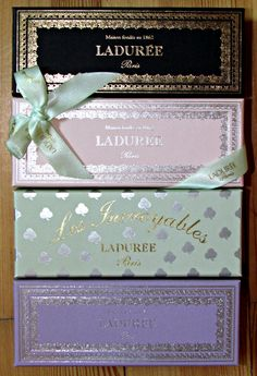 Laduree boxes #paris