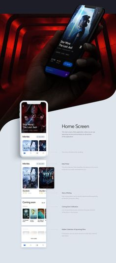 This is our daily iOS app design inspiration article for our loyal readers. Every day we are showcasing a iOS app design whether live on app stores or only designed as concept. Ios App Design, Web Design, Mobile App Design, Dashboard Design, Flat Design, Icon Design, App Design Inspiration, Film App, Application Ui Design