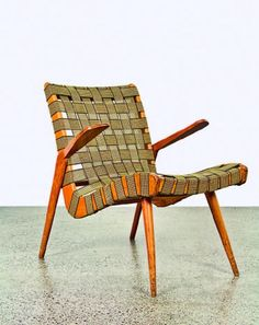 Bob Roukema; Armchair for Jon Jansen, 1950s.