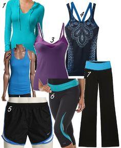 Super cute workout clothes