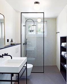 Bathroom decor for your bathroom remodel. Discover bathroom organization, bathroom decor ideas, bathroom tile ideas, bathroom paint colors, and more. Bathroom Inspiration, Simple Bathroom, Bathrooms Remodel, Bathroom Interior Design, Bathroom Decor, Bathroom Design, Small Bathroom Remodel, Shower Room, Bathroom Layout