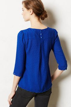 NWT Anthropologie Emmeline Blouse by Maeve top, size Pretty and classy RARE Irish Warrior, Blouse Outfit, Beautiful Blouses, Dress Codes, Anthropologie, Summer Outfits, Ruffle Blouse, Tunic Tops, Clothes For Women