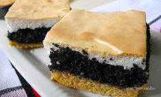Habos mákos pite | Recept | Gasztromankó receptek Cookie Recipes, Cheesecake, Cookies, Poppy, Food, Recipes For Biscuits, Crack Crackers, Biscuits, Cheesecakes