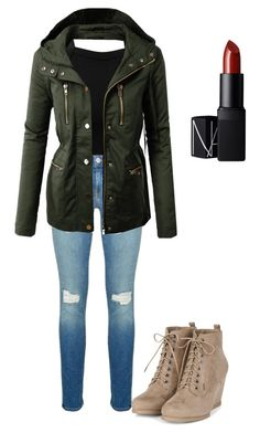 """fall time"" by kassia3-932 on Polyvore featuring Miss Selfridge, Rebecca Minkoff, LE3NO and NARS Cosmetics"