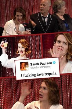 Truly the supreme Sarah Paulson is amazing American Horror Story 3, Gay, Fandoms, Evan Peters, Orphan Black, Cate Blanchett, Celebs, Celebrities, Horror Stories