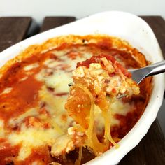 Mind Over Munch   Spaghetti Squash Lasagna