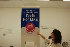 Ask us about our Teeth Whitening for LIFE! It's a great added bonus for our patients.