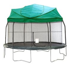 Universal Green Tr&oline Canopy/Roof with Dome Poles for all major brands!  sc 1 st  Pinterest & NEW! Universal Trampoline Canopy/Roof for all major brands ...