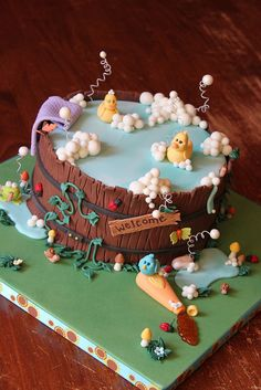 Cake decorating ideas......this site is full of them!