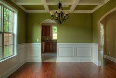 Green Dining Room.