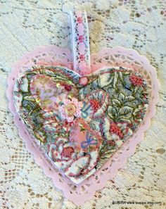 One Of A Kind Embroidered Heart