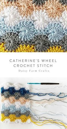 Crochet Stitches Free, Afghan Crochet Patterns, Free Crochet, Knitting Patterns, Different Crochet Stitches, Free Knitting, Embroidery Stitches, Crochet Crafts, Crochet Yarn
