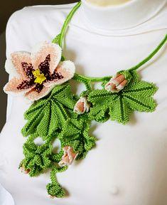 Amazing beaded jewelry by Marina Nosova