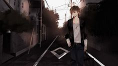 anime sad boy 1920x1080