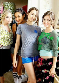 Ashley Benson, Shay Mitchell, Troian Bellisario, and Lucy Hale.