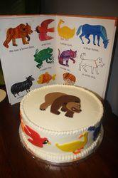 Brown Bear, Brown Bear Cake