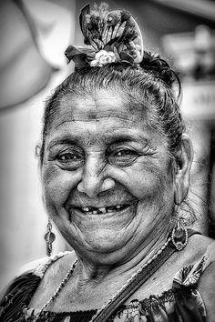 Resalá, old lady from Venezuela.