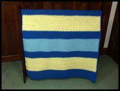 "Soft Granite Blanket - Boys, 34"" x 43"", $60."