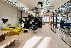 "Adaptive Lab, a design and innovation consultancy that builds products, services & beta businesses, recently hired interdisciplinary studio Haxch to design their new office space, located in London's Shoreditch neighborhood. ""With a rapidly growing team, design and innovation consultancy Adaptive Lab knew it needed to find somewhere bigger that could accommodate their team. And, once they … Continue reading Inside Adaptive Lab's Cool London Office →"