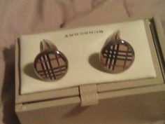 Burberry Cufflinks.