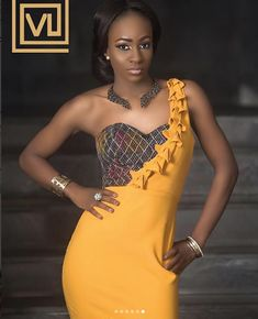 BB Naija 2018 housemates Anto, Vandora, and Bambam are on the cover of the June edition of VL Magazine called the trinity month. Anto looks really stunning as she sits gracefully on the cover. African Print Dresses, African Print Fashion, African Dress, Fashion Prints, African Prints, Fashion Design, African Traditional Dresses, Traditional Wedding Dresses, Woman Fashion