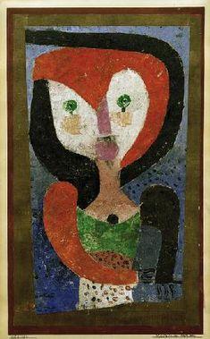 Paul Klee - Maedchen aus Sachsen, 1922. 132.
