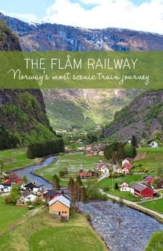 The Flåm Railway: Norway's most scenic train journey – On the Luce travel b… Norway Vacation, Norway Travel, Sweden Travel, Places To Travel, Travel Destinations, Places To Go, Europa Tour, Norway Fjords, Visit Norway