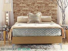 Dormitorios con paredes de ladrillo #home #sweethome #bathroom #decor #design