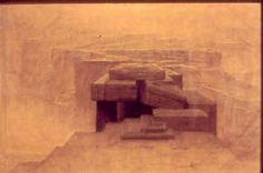 Adolphe Appia: PROMETHEUS BOUND 1910