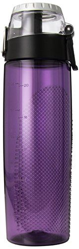 Thermos 24 Ounce Tritan Hydration Bottle with Meter Purple *** More info could be found at the image url.