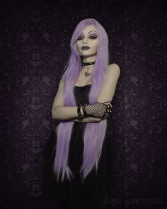 Gorgeous gothic model, Darya Goncharova