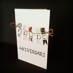 ¿Nos vamos de #cumpleaños? ;) #sweetnblue #cumple #fiesta #aniversari #fiestasorpresa #felizcumpleaños #feliçaniversari #tarjetapersonalizada #handmade #hechoamano #scrapbooking