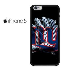 New York Giants Football Gloves Iphone 6 Iphone 6S Case