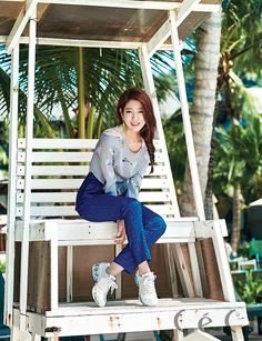 3rd Batch Of Spreads Of Park Shin Hye From CéCi's March 2015 Issue | Couch Kimchi