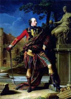 William Gordon (British Army officer) – by Pompeo Batoni (1708-1787) – c.1765.
