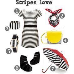 Funky Sunday: Inspiration shopping: Stripes love