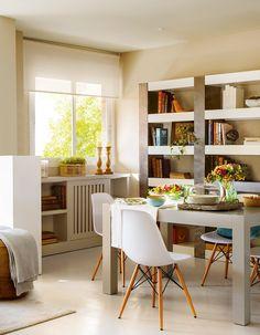 Jurnal de design interior - Amenajări interioare : Tonuri naturale într-un apartament de 70 m²