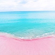 Pink Sand Beach Bahamas Travel Destinations Places To Visit