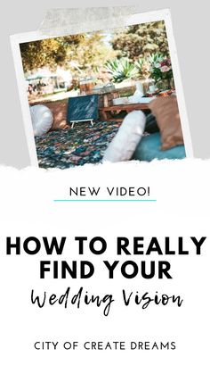 How to Really Find Your Wedding Vision Wedding Planning On A Budget, Plan Your Wedding, Youtube Wedding, Know What You Want, Wedding Videos, Wedding Bride, Brides, How To Find Out, Finding Yourself