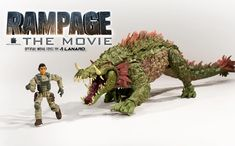Official Website Launched for Rampage Movie Toys - The Toyark - News Awesome Toys, Cool Toys, Jurassic World, Jurassic Park, Rampage Movie, Walmart Stores, Figurines D'action, Godzilla Toys, King Kong