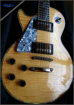 Ravens West Guitars RWG Bill Mackechnie Signature RM300MAC Lefty No:9-48 Natural Flame