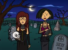 The picture is from the Sarcastathon 3000 intro to episode 13 of the first season of Daria.