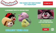 Muncheez are plush pets for kids that can be use to store items. Read our…