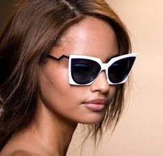 White Frame Summer Sunglasses 2016