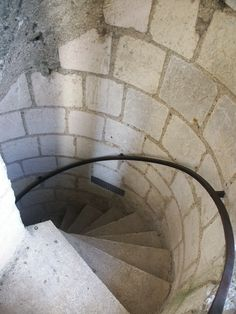 Staircase in Loches France