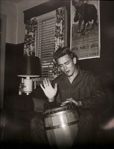 One of his favorite hobbies was playing the bongos. | 16 Things You Might Not Know About James Dean
