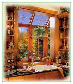 Great share Wood Garden Windows